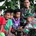 Potret Anak-Anak dilokasi TMMD ke-107 Kodim 1002/Barabai