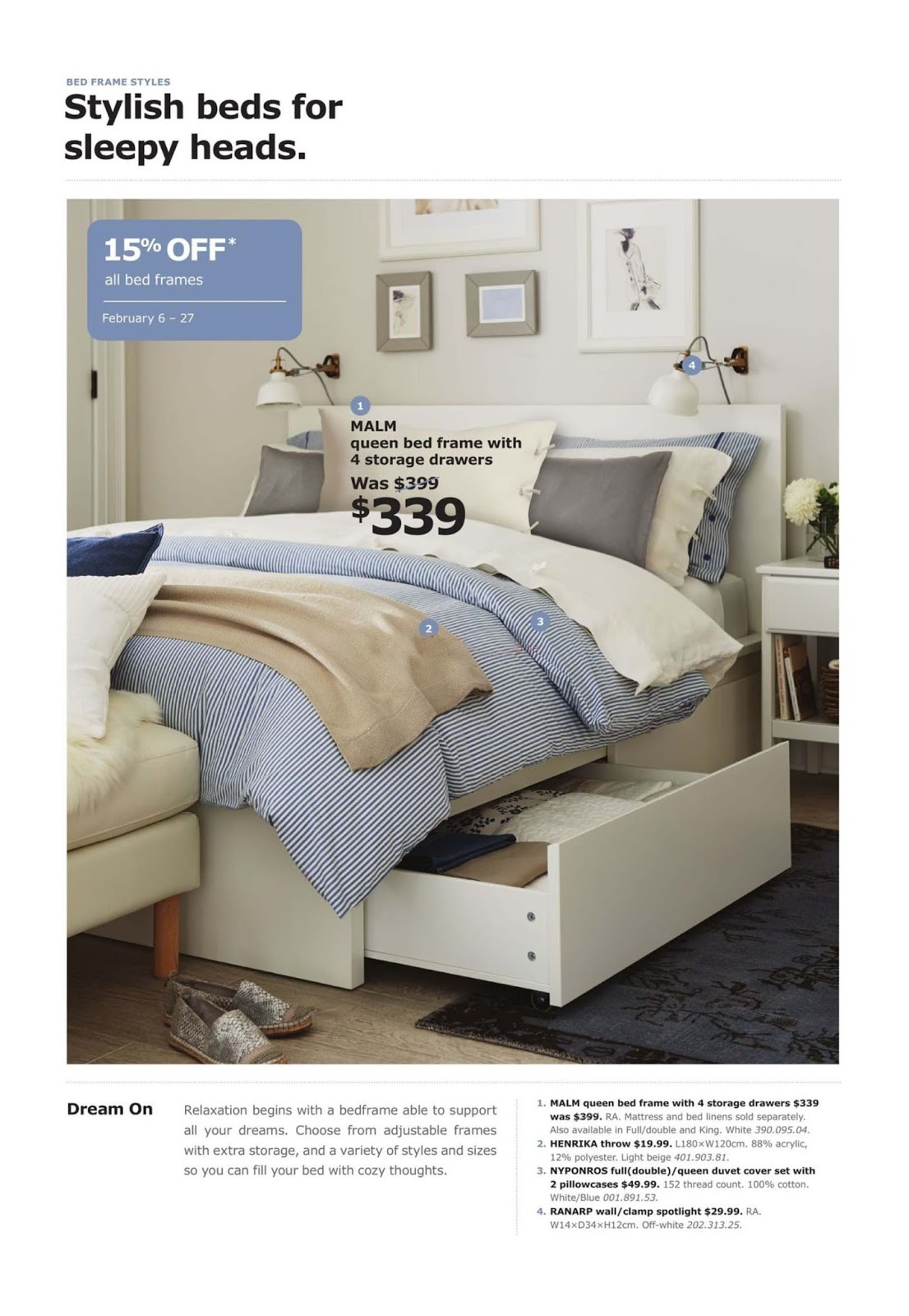 Discount Furniture Stores Winnipeg Ikea Flyer February 6 27 2017 Weekly Flyers Canada