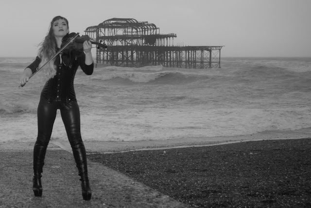 brighton violin and the pier heels