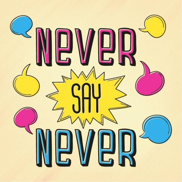 Nigdy nie mów nigdy