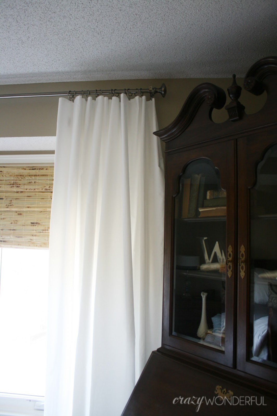 extra wide extra long extra cheap curtains  Crazy Wonderful