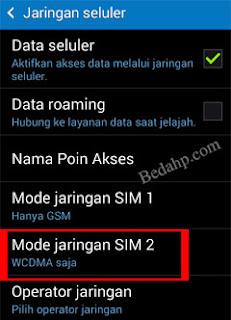 Cara Mengunci Sinyal Jaringan 3G Android 3