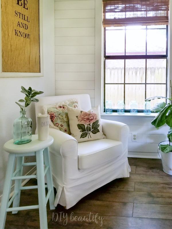 cottage style corner