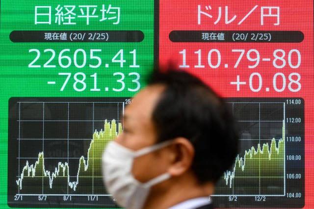Mercados caen
