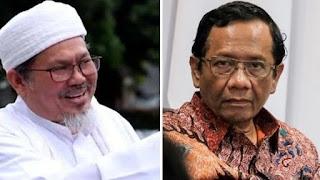 Pendukung HRS Membludak, Tengku Zul Sindir Mahfud: Wajah Boleh Hitam Tapi Hati Jangan
