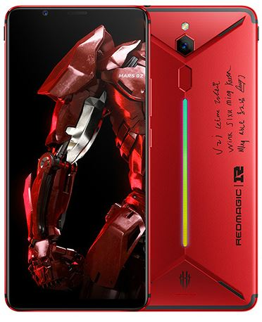 he Nubia Red Magic Mars RNG Edition comes in 8GB and 10GB RAM options