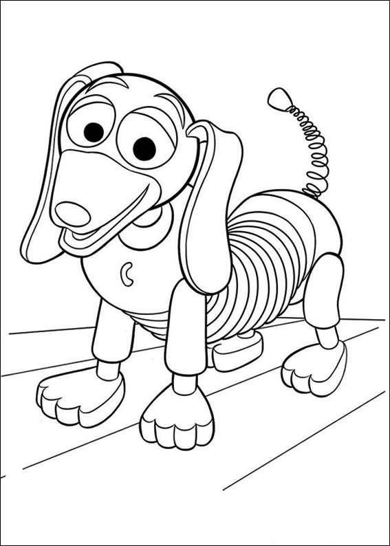 Toy Story Coloring Pages ~ Free Printable Coloring Pages
