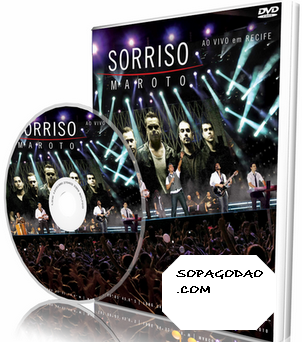 DVD Sorriso Maroto - Ao Vivo em Recife (2011)