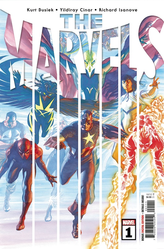 Cover of The Marvels #1