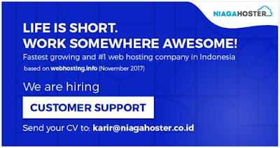 Lowongan Kerja Online di Niagahoster