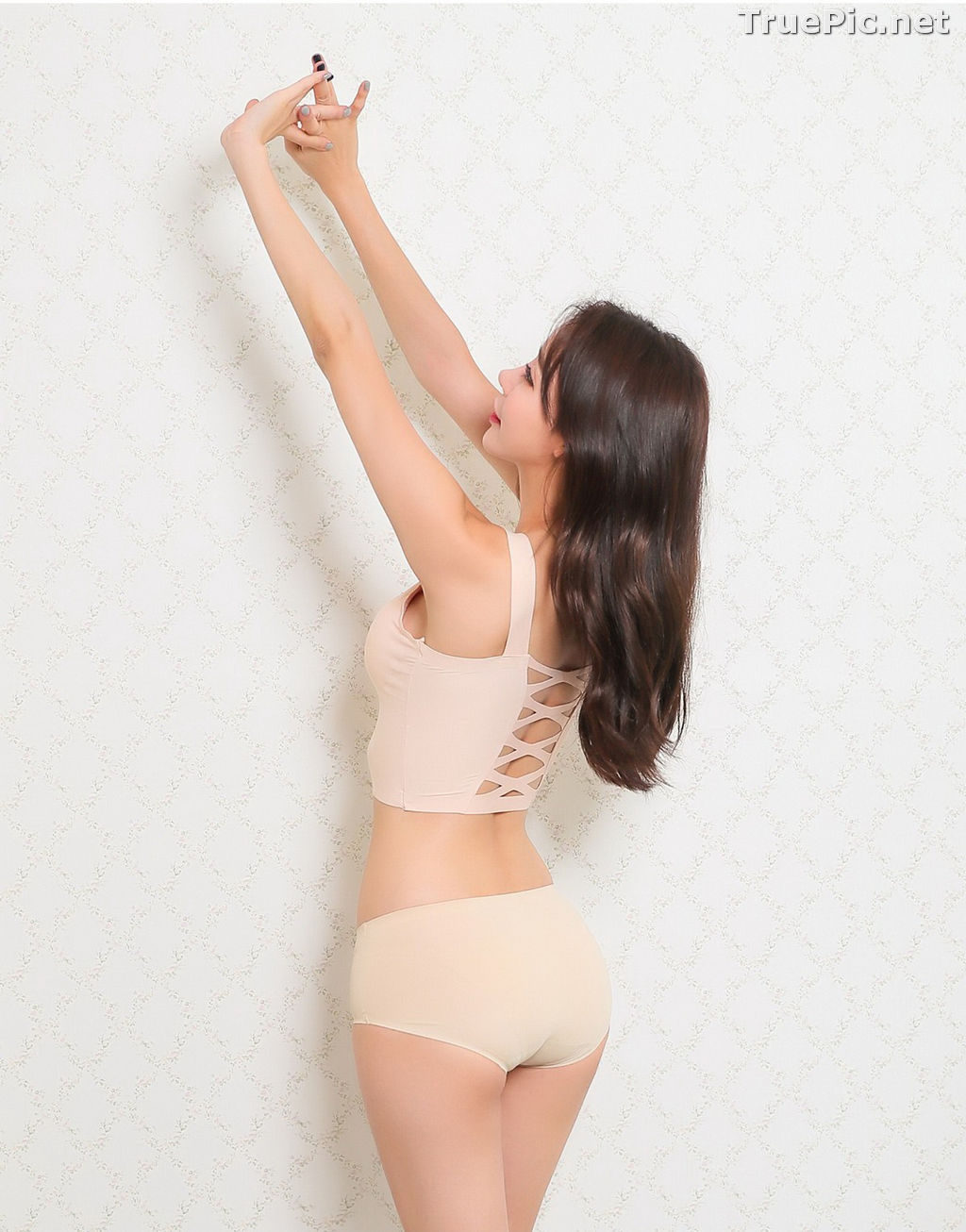 Image Hyun Kyung - Korean Fashion Model - Nude Color Undies - TruePic.net - Picture-10