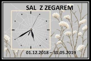 Sal – zegar z pajęczyną – finisz