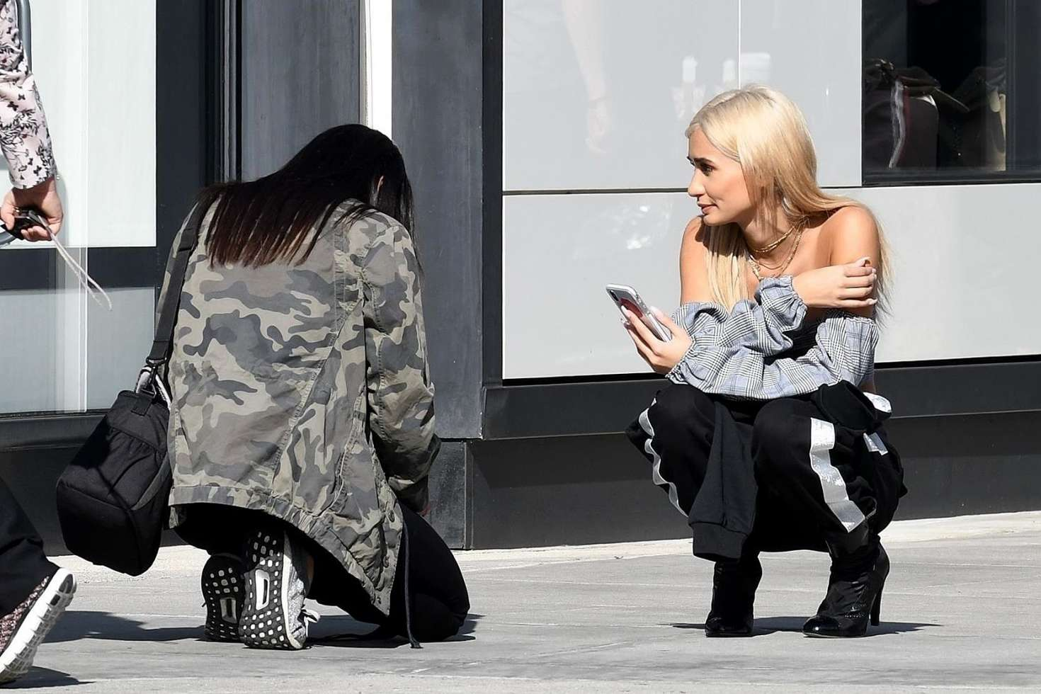 Pia Mia Perez On A Photoshoot In Beverly Hills