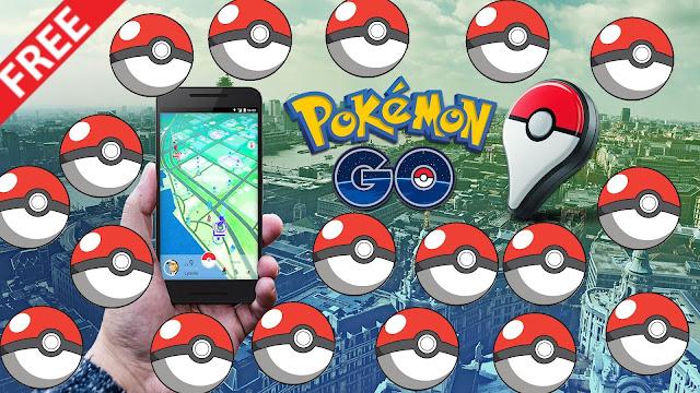 Pokébolas de Graça em Pokemon Go