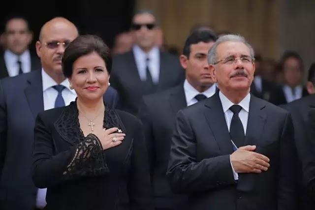 Margarita Cedeño pide al señor que dé sabiduría al presidente Medina