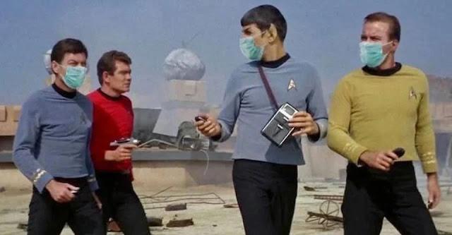 Star Trek redshirt mask meme. Source: ScreenRant
