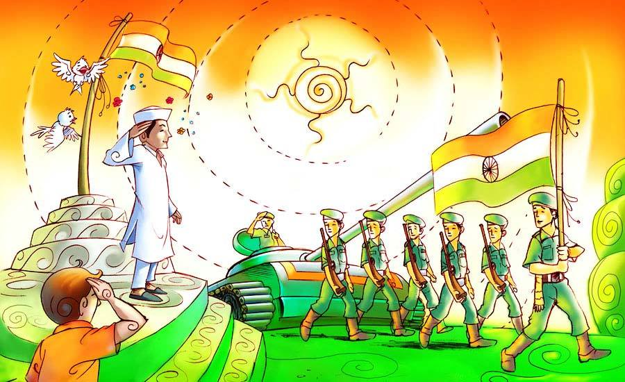 Best Drawing On Republic Day Republic Day Easy Drawing Images