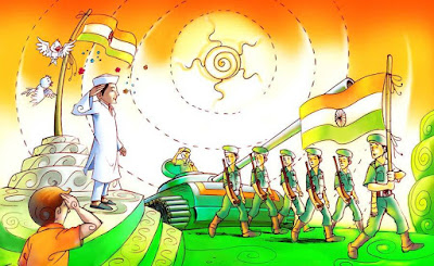 26 January Republic Day 2017 Drawings, Paintings, Sketches, Images for Kids, Students, Childs
