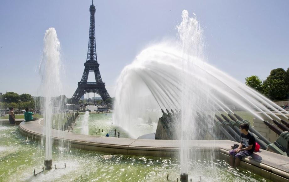 Clima em Paris Verao