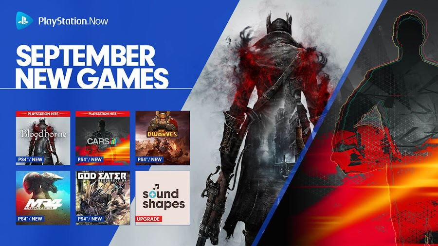 playstation now bloodborne ps4 lineup