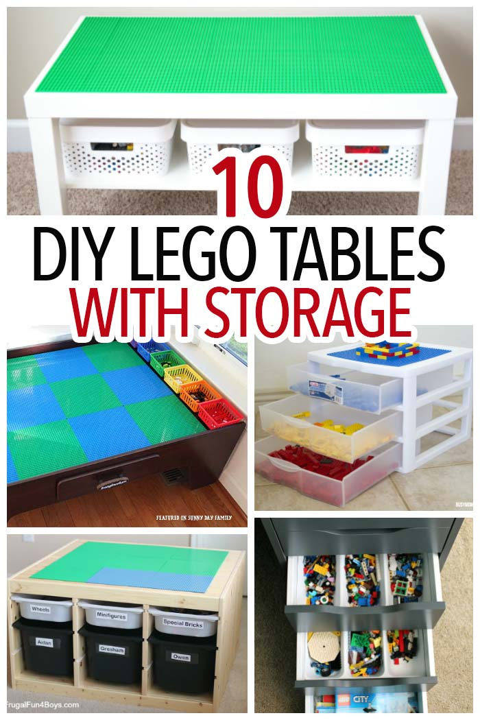 DIY Lego table | Lego Storage | Activity Table | Playroom table | Toy Storage | Organize Legos | Organize Toys | DIY project | Lego activity