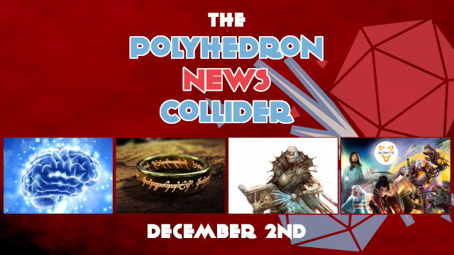Board Game News Collider - Asmodee Aconyte Reveals first titles, good for mental health, Dungeons and dragons movie, One RIng cancelled Cubicle 7
