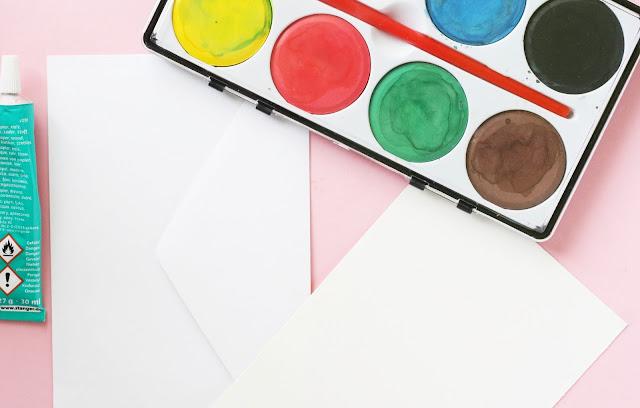 Materialien - Briefumschlag gestalten