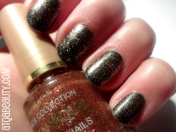Essence, Vampire's Love, 01 Old Gold Buffy + Sensique, Trendy Nails, 204