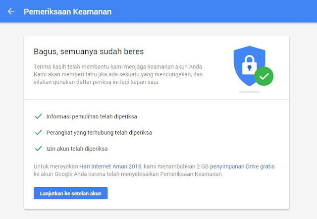 Gratis Tambahan 2 GB Dari Promo Google Drive