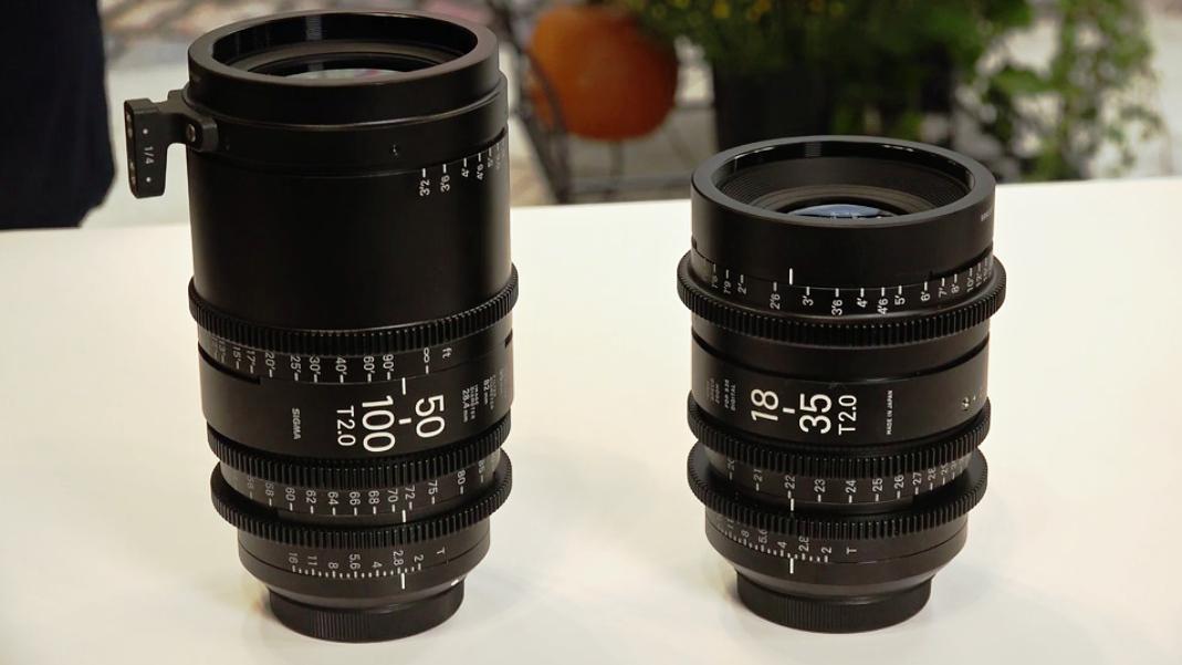 Sigma 50-100 T2 и 18-35 T2