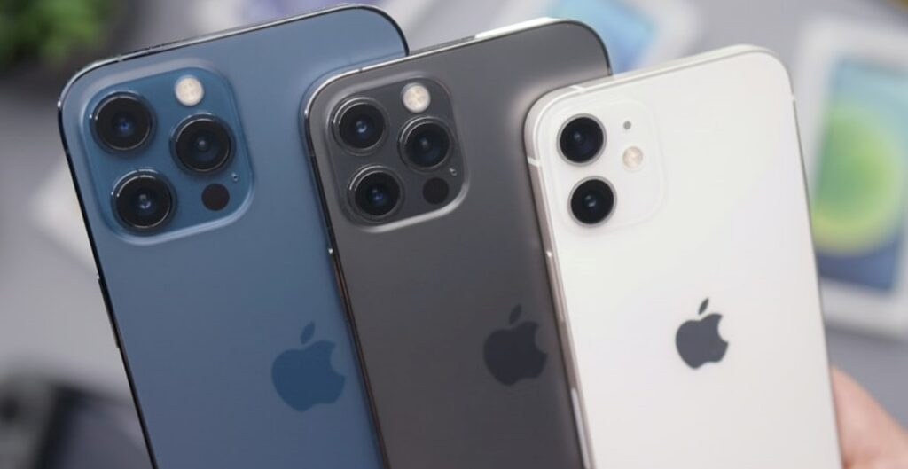 iPhone 12 Pro Max, iPhone 12 Pro, dan iPhone 12
