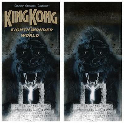 King Kong Screen Print by Drew Struzan x Bottleneck Gallery