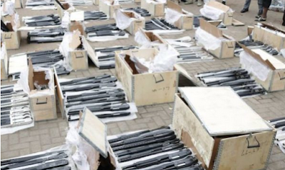 Container-Load Of Arms Found In Lagos Port