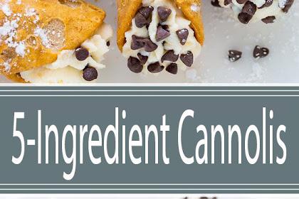 5-Ingredient Cannolis