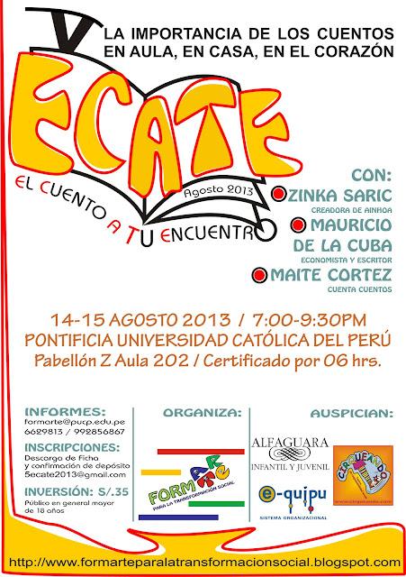 AFICHE+V+ECATE+2013+EN+PUCP_FORMARTE+WEB