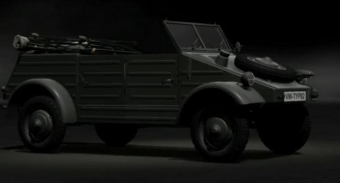 Volkswagen Kübelwagen Typ82 1944