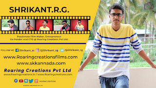 Shrikant R G Co founder and CTO Roaring Creations Pvt Ltd