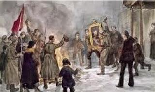 Penyebab Terjadinya Revolusi Rusia