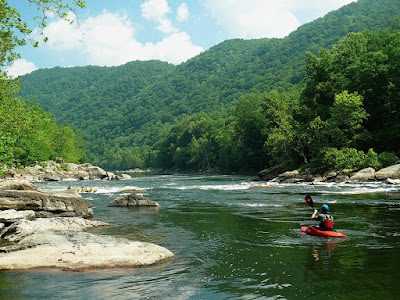 New River Gorge in the Author's Birth State of West Virginia - Photo in the Public Domain