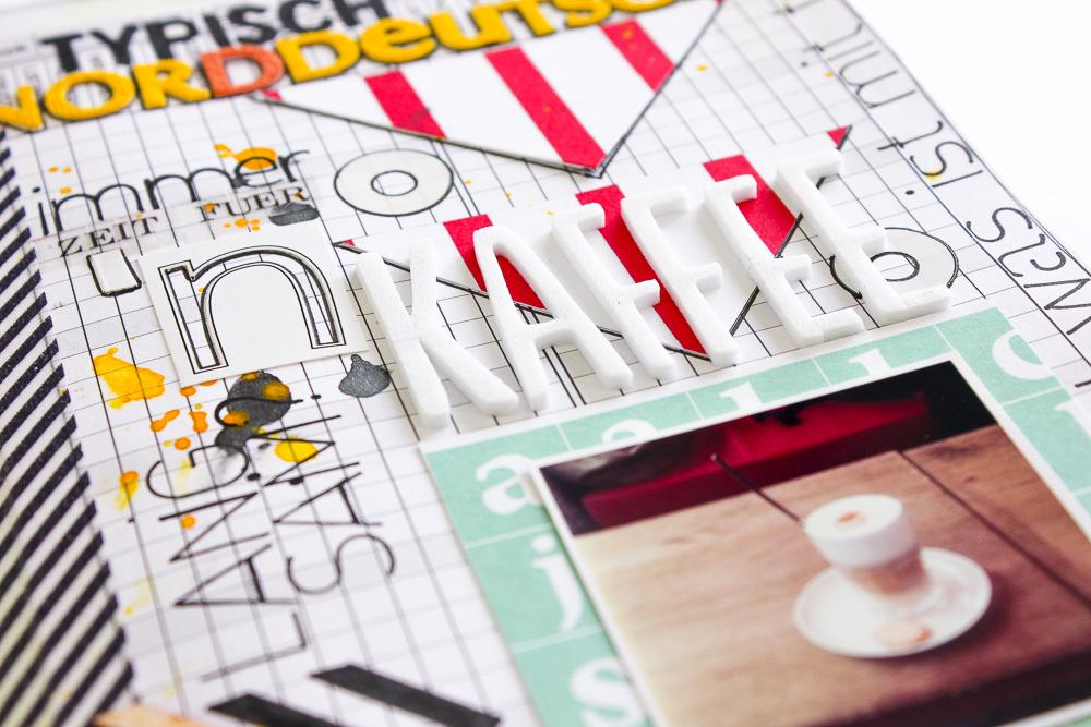 Art Journal Seite Typisch Norddeutsch - Janna Werner