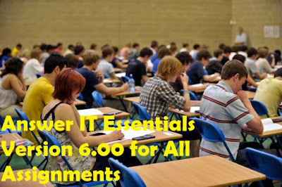 Answer IT Essentials Version 6.00 for All Assignments