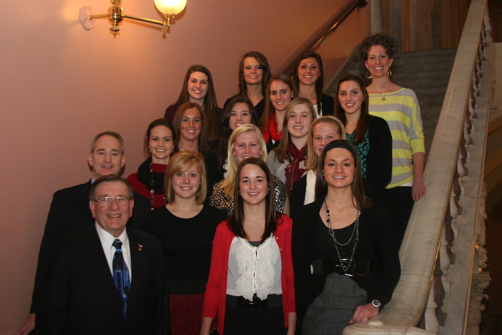 Ohio House GOP: Rep  Buchy Honors St  Henry Girls
