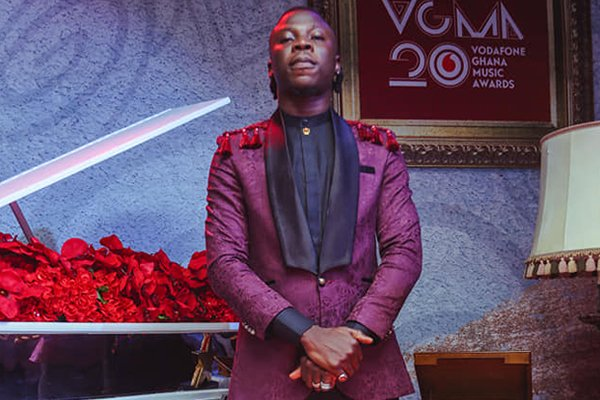 #VGMA20: I'm Sorry For Pulling Out A Gun – Stonebwoy