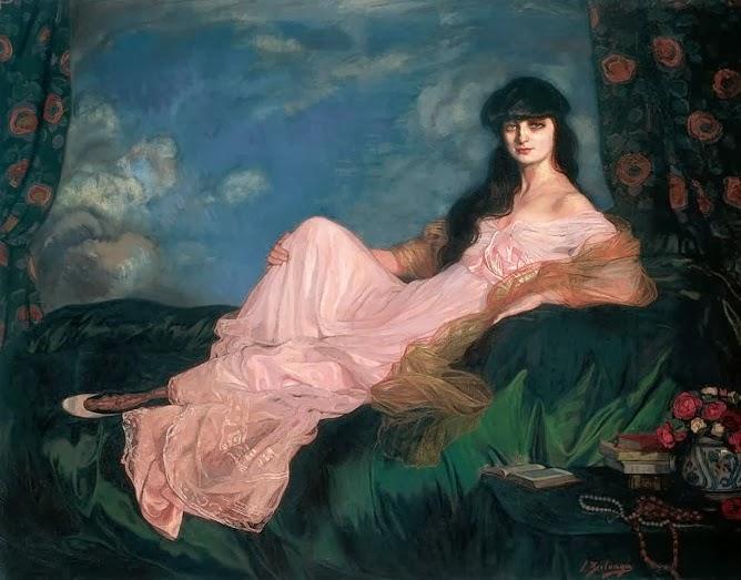Ignacio Zuloaga, Retrato de la condesa Mathieu de Noailles