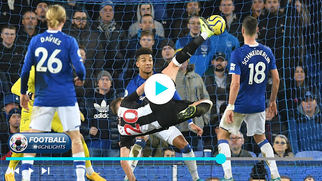 Everton vs Newcastle United Highlights