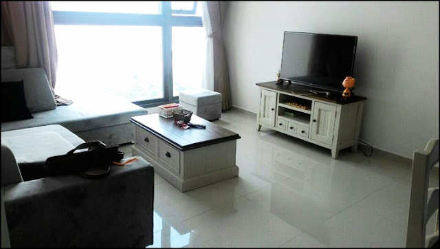 Pearl Plaza apartment for rent 1 bedroom fully furnished highfloor