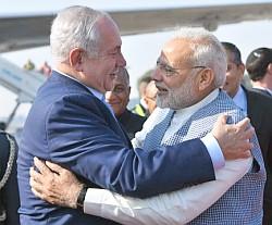 India-PM-Modi-and-Israel-PM-Benjamin-Netanyahu