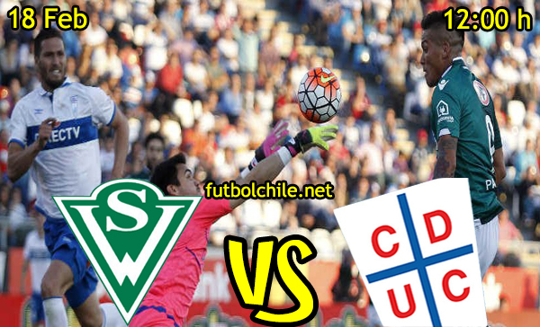 Ver stream hd youtube facebook movil android ios iphone table ipad windows mac linux resultado en vivo, online: Santiago Wanderers vs  Universidad Católica