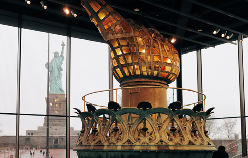Statue of Liberty Museum Torch