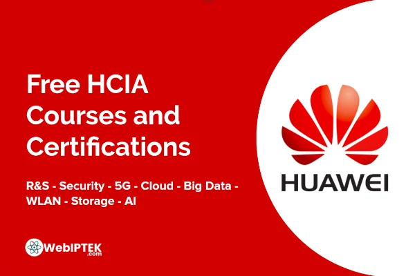 Free HCIA Courses and Certification by Huawei